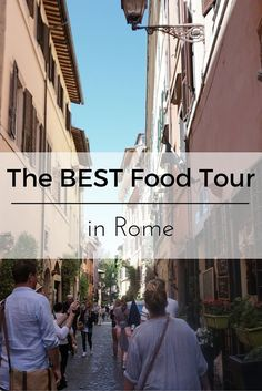 Looking for a food tour in Rome? Or maybe looking for things to do in Rome? Either way Eating Italy's Daylight Trastevere Tour will excite and educate you about the history and culture of this special Roman village.   Get an inside peek and check out the video by clicking the link :)