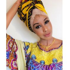 """sagaleeyaa: """" Stereotyping the image of the images, and this is what the image is - Nubian Queen status. African Fashion, African Style, Blue Ombre, Black Girl Magic, Head Wraps, Black Women, Autumn Fashion, Image, Beautiful"""