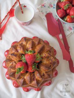 Cake de fresas y nata