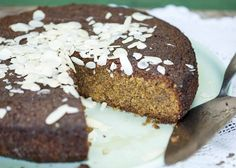 Almond & Pistachio Cake with Rosewater Syrup