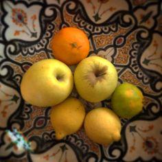 Eco autum fruits