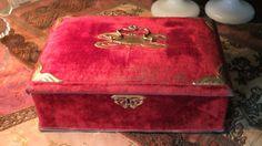 Antique French trinket Jewel Box Art Nouveau by GabriellesGrandson, €95.00