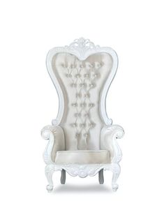 Shop our collection of affordable single Throne Chairs™ on sale with free nationwide shipping! Choose from over 400 royal king & queen thrones in stock. Buy your next throne chair in store or online! King Throne Chair, King On Throne, Royal Furniture, Vintage Furniture, Royal King, King Queen, Restaurant Design, Pearl White, Accent Chairs