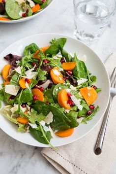 Salad / see and savour best paleo recipes, vegetarian recipes, skinny recip Best Paleo Recipes, Vegetarian Salad Recipes, Salad Recipes For Dinner, Healthy Salads, Healthy Eating, Simple Salads, Pomegranate Salad, Pasta, Foods With Gluten