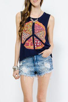 Peace o' Pizza shirt
