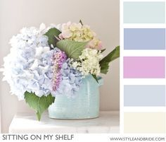Lovely pastel pallete