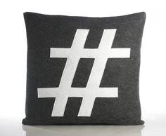 #Hashtag Kussen