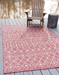 Enjoy exclusive for Unique Loom Outdoor Trellis Collection Tribal Geometric Transitional Indoor Outdoor Flatweave Rust Red Area Rug 0 x online – Toptrendygroup - Outdoor Rugs Large Area Rugs, Blue Area Rugs, Shed Colours, Colors, Trellis Rug, Buy Rugs, Indoor Outdoor Rugs, Outdoor Decor, Modern Rugs