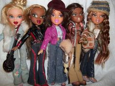 more for bratz doll fans...sasha and friends