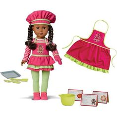 My Life As Doll of 2014 Holiday Baker Doll, Gingerbread, African American