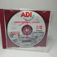 ADI Environnement College 3,4,5,6éme, Acces Internet + Classes, 2 CD for PC/Mac
