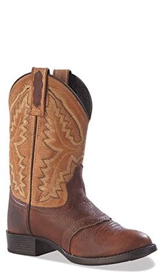 Old West Baby Girls' Cowboy Boot,3.5 M US Big Kid,Rust/Tan Old West Boots http://www.amazon.com/dp/B005944PQW/ref=cm_sw_r_pi_dp_9g.6ub1KM307Y