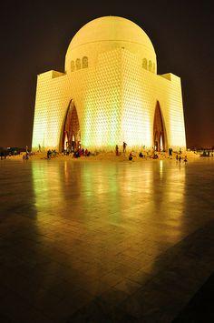 Mausoleum - The final abode of Muhammad Ali Jinnah, the founder of Pakistan