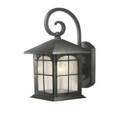 hampton bay exterior wall lantern with built in electrical outlet gfci. hampton bay mission style black with bronze highlight outdoor wall lantern built-in electrical outlet (gfci) | outlets, and exterior built in gfci n