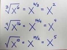 square root of negative one teach math: Fraction Exponents. - - square root of negative one teach math: Fraction Exponents. Infografik square root of negative one teach math: Fraction Exponents. Math Teacher, Math Classroom, Teaching Math, Math College, College Teaching, Square Roots, Math Formulas, Maths Algebra, School Study Tips