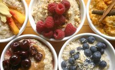 Oatmeal: 5 delicious variations. Appropriate for phases 1 and 3 of the #fastmetabolismdiet