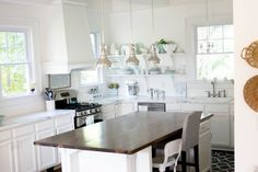 White Dream Kitchen {On a $5K Budget} - The Source List - Restless Arrow