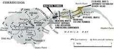 Corregidor MAP WW2