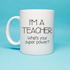 Cadeau pour professeur enseignant-idée de par TheCoffeeCorner