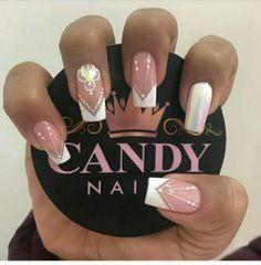 Dope Nails, Cute Acrylic Nails, Pretty Nails, Nail Designs, Nail Art, Beauty, Templates, Different Nail Shapes, Long Nail Art