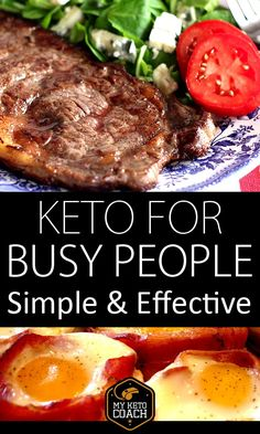 Keto is simple and highly effective. The problem is everything out there is too complicated! Just keep it simple, accurate and enjoyable - this will ensure your success. #ketogenic