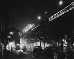The 67th Street station in New York City, 1953 © Scott Hyde