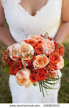 Google Image Result for http://image.shutterstock.com/display_pic_with_logo/264814/106865033/stock-photo-wedding-bouquet-with-orange-roses-106865033.jpg