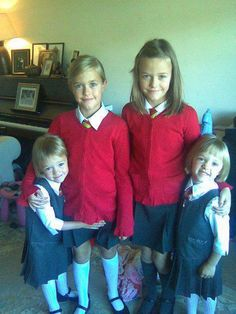 Us Tommo Girlz (left) Lottie (right) Fizzy (left bottom) Me (right bottom) Phoebe They're so cute!