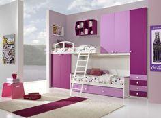 Faer camerette ~ Camerette per bambini: key rosa di mondo convenienza camerette