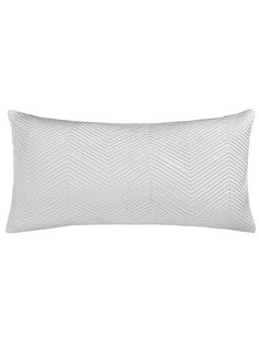 BuyJohn Lewis & Partners Boutique Hotel Linear Cushion, Frost Online at johnlewis.com