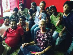 Belinda Carlisle visits the boys of shuktara Belinda Carlisle, Dance With You, Summer Rain, Oh My Love, Billboard Hot 100, Hottest 100, Together Forever, Kolkata