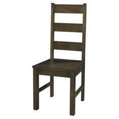 Powell Autumn Falls Dining Side Chair - Smoke Wood - Set of 2 - PO3018-1
