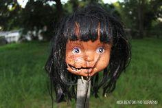 Creepy Doll Head by NickBentonArt.deviantart.com on @DeviantArt xx