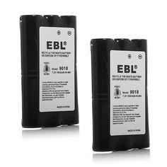 EBL HNN9018 High Capacity 1800mAh Two-Way Radio Batteries Replacement Battery for Motorola Radius Radio SP50 CP50 HNN9018 HNN9018AR HNN9018A HNN9018B -- Click image to review more details.