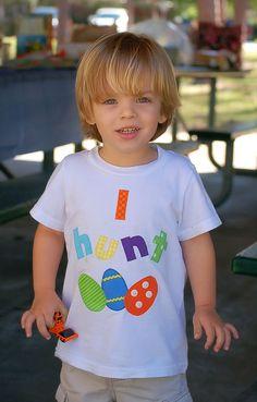 EASTER Boys Egg hunt shirt boutique custom maddie by maddiekate, $19.99 soooo cute!!