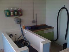 Sloppy Dog Wash Tulsa, OK  Self Serve Dog Wash Tub www.newbreedtubs.com