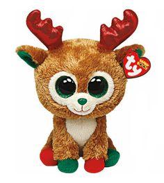 14c8e173108 Alpine Reindeer Beanie Boo Medium - Arctic Stuffed Animal by Ty TY Beanie  Boos
