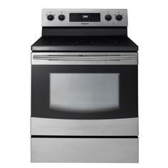 "Samsung 30"" Stainless Steel Smoothtop Electric Range (Model: FER300SX)"