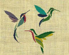Animale/uccello/colibrì contato Cross Stitch di crossstitchgarden