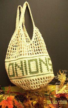 Crochet Onion Bag ☀CQ #crochet