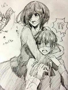 Kaneki X Touka | kaneki x touka - Tokyo Ghoul Fan Art (39451465) - Fanpop