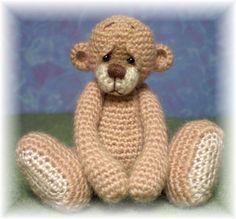 Miniature Grochet Bear