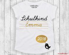 T-Shirt Einschulung *Schulkind* mit Namen 2018