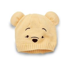 Winnie the Pooh Hat and Gloves Set for Baby ($17) ❤ liked on Polyvore featuring baby, baby clothes, baby stuff, hats and kids