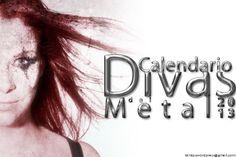 El nuevo calendario 2013: Los resultados de la votación para elegir a las 12 divas del metal!