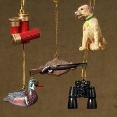 hunting ornaments