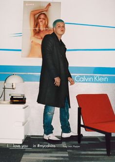 Yung Lean - Get Familiar With All 27 People in Calvin Klein's Fall 2016 Campaign | Complex
