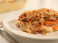 Root Vegetable Au Gratin Recipe : Sandra Lee : Food Network - FoodNetwork.com