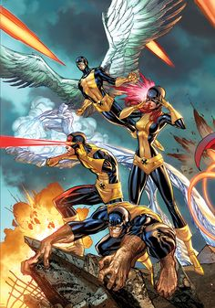 All New X-Men #1 // Cover Art by J. Scott Campbell