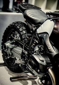MK23 ZANDBEEST...  Motokouture style study on a R Nine T.  Limited edition (20PC's) Motokouture MC's